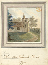 Nursted Church Kent 1790s